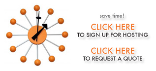 Sign-up for Hosting & Request a Quote